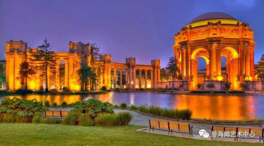 旧金山罗马艺术宫图片