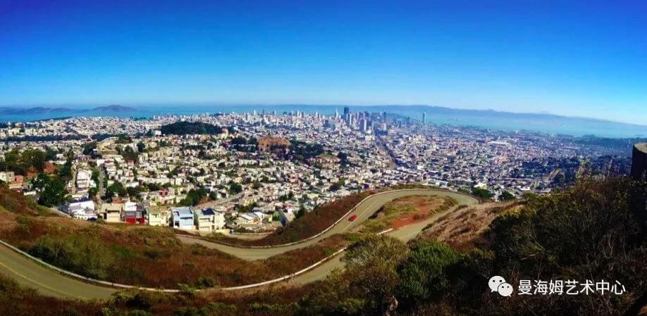 旧金山双子峰图片